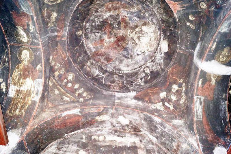 Γιάννενα: Ξεκίνησε η διάσωση των τοιχογραφιών