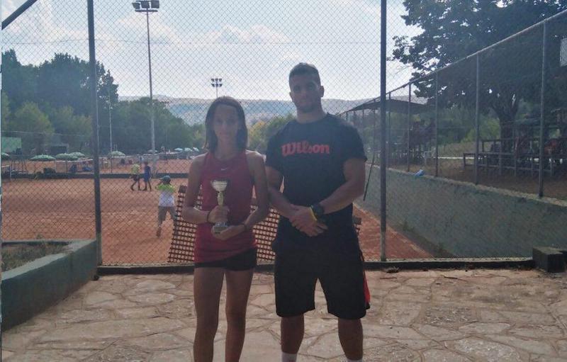 Γιάννενα: Τένις- Τη συμμετοχή της στην Εθνική κυνηγά η Ναταλία Γκαρτζονίκα