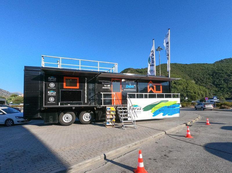 Ήγουμενίτσα: Κινητό περίπτερο τουριστικής προβολής στον Νέο Λιμένα Ηγουμενίτσας