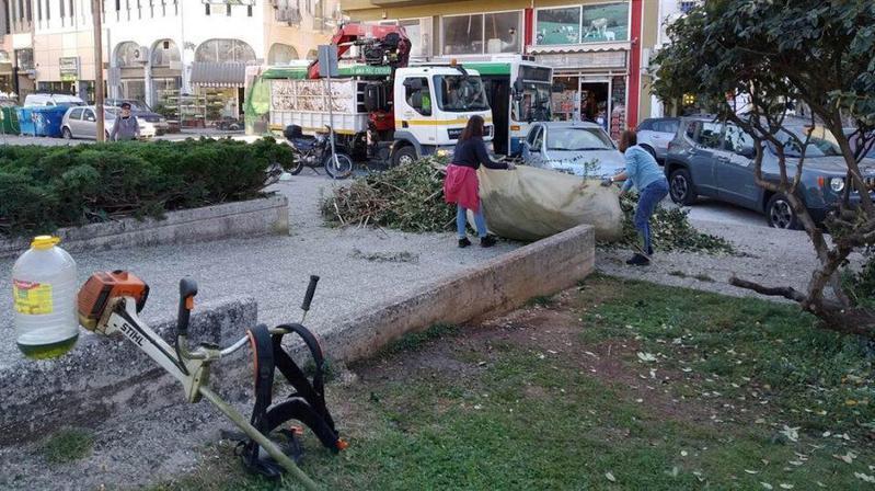 Γιάννενα: Καθαρισμός και ευπρεπισμός στους κοινόχρηστους χώρους