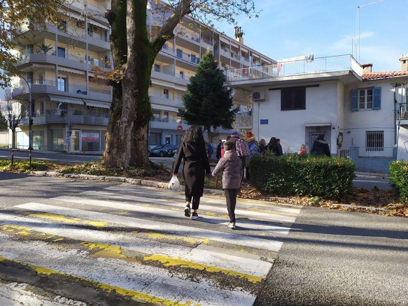Γιάννενα: Ζητούν τροχονόμο και διατήρηση της διάβασης