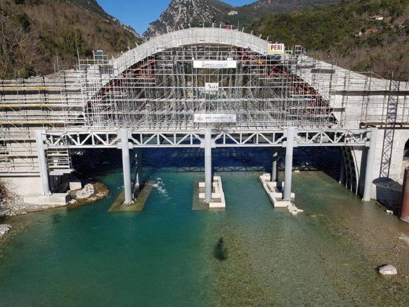 Γιάννενα: Πρόσθετες εργασίες αντισεισμικής θωράκισης στη Γέφυρα Πλάκας