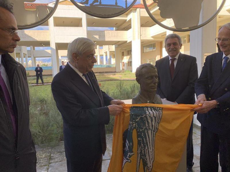 Γιάννενα: Αποκαλυπτήρια προτομής με εύσημα για το Μουσείο Ιστορίας της Ιατρικής