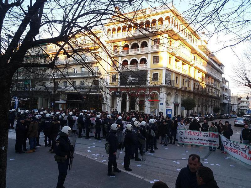 Υπό αστυνομικό κλοιό για τον φόβο των διαδηλωτών