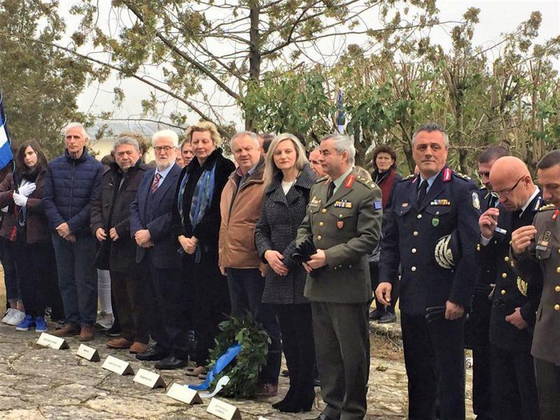 Γιάννενα: Τιμήθηκε η μνήμη των πεσόντων σε Μπιζάνι και Αβγό
