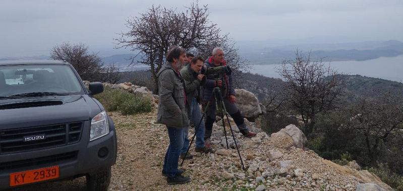 Εκστρατεία απογραφής του πληθυσμού των ορνίων στη Δυτική Ελλάδα