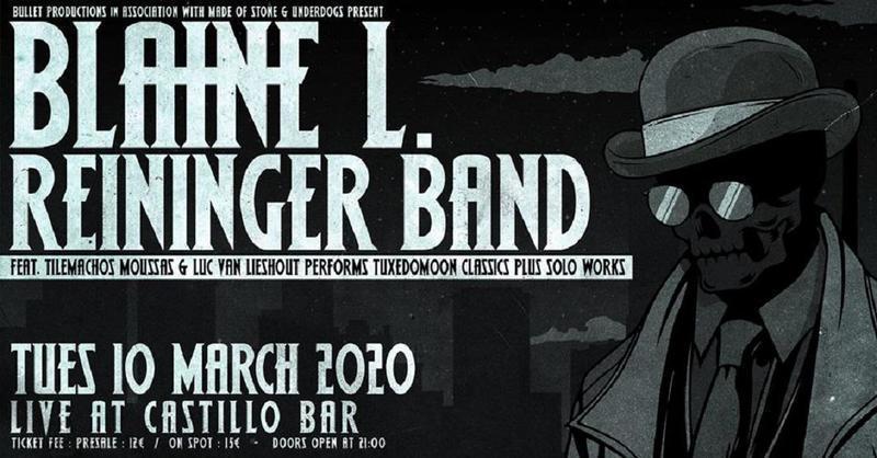 O Blaine L. Reininger των Tuxedomoon στο Castillo bar