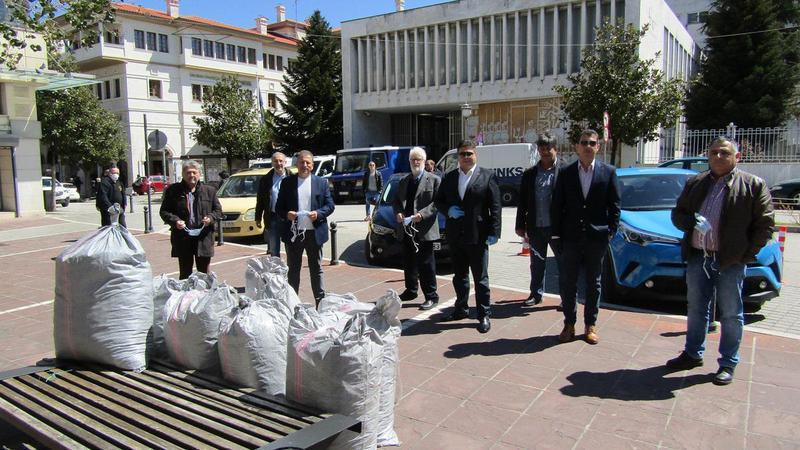20.000 μάσκες από την ΕΕΤΑΑ για τους δήμους της Ηπείρου