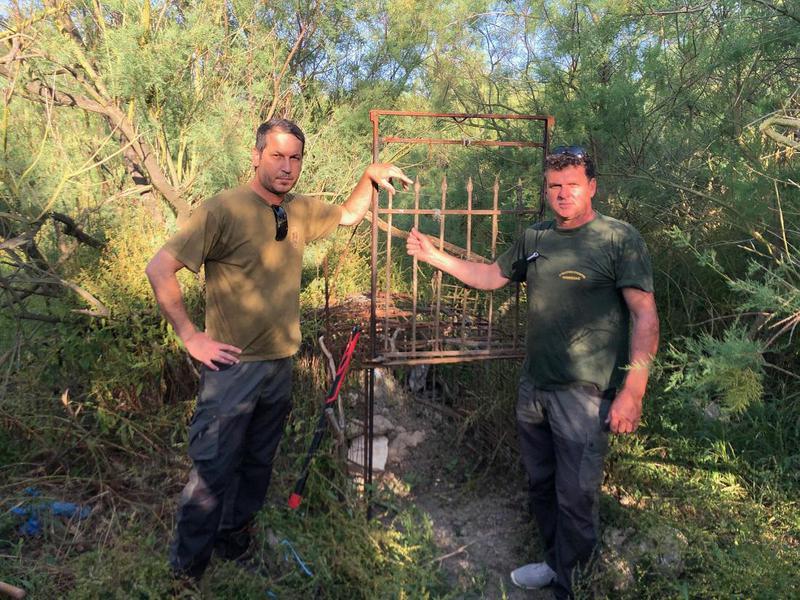 Αυτοσχέδια παγίδα για αγριογούρουνα  εντοπίστηκε στην Αμμουδιά