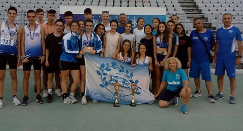 Πανελλήνιο Πρωτάθλημα Στίβου Κ16- Πρωτιά για τον ΑΓΣΙ στον όμιλο της Πάτρας