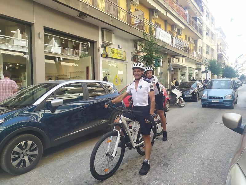 Αστυνομικοί ποδηλάτες και στα Γιάννενα