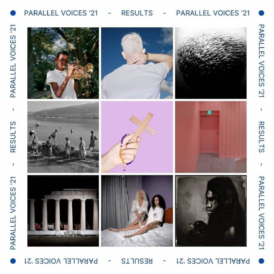 Αποτελέσματα του Portfolio Contest Parallel Voices 2021