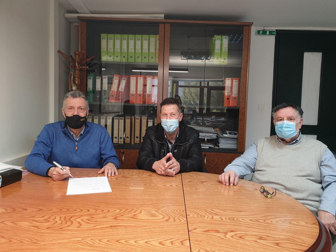 Υπεγράφη η σύμβαση για τη διαχείρισης της λυματολάσπης