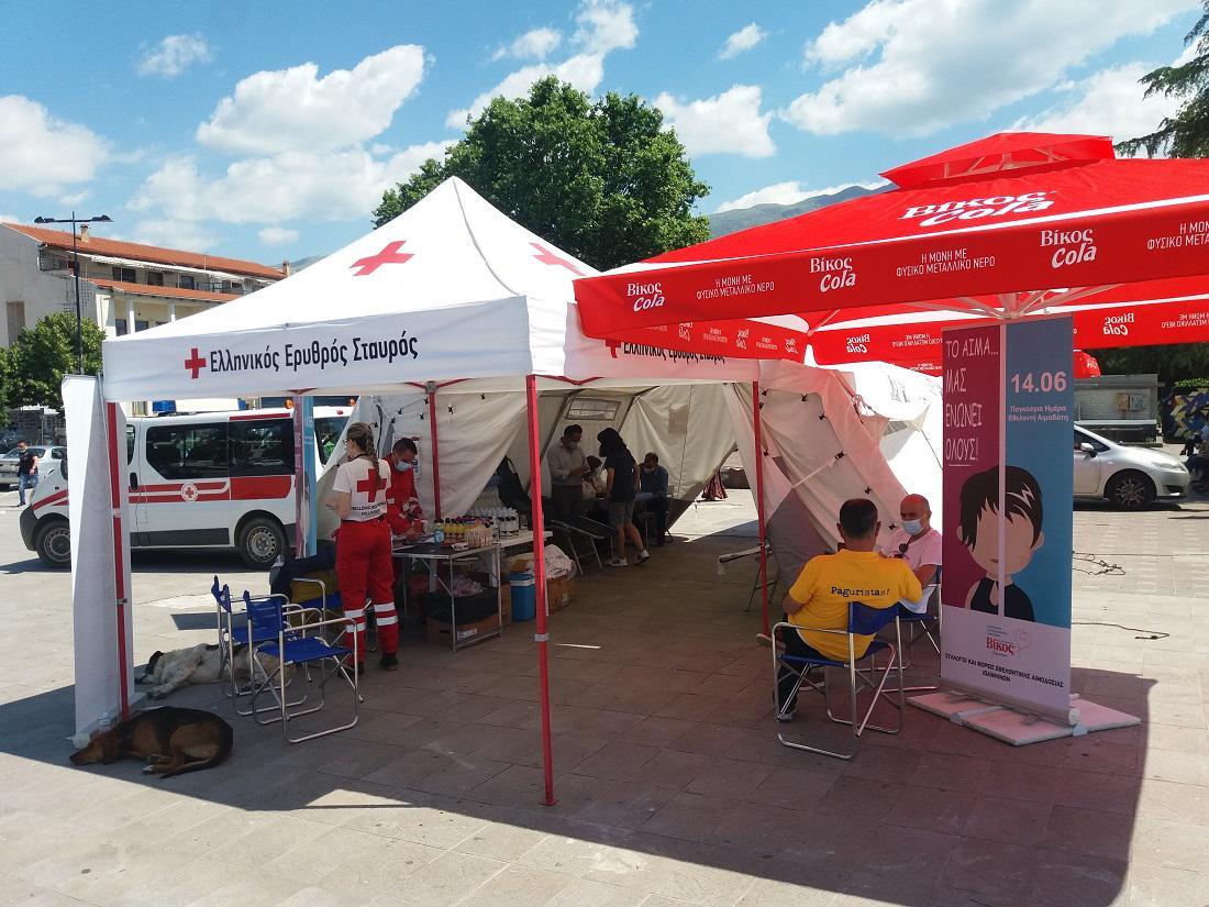 Δυναμικό ξεκίνημα στο διήμερο εθελοντικής αιμοδοσίας