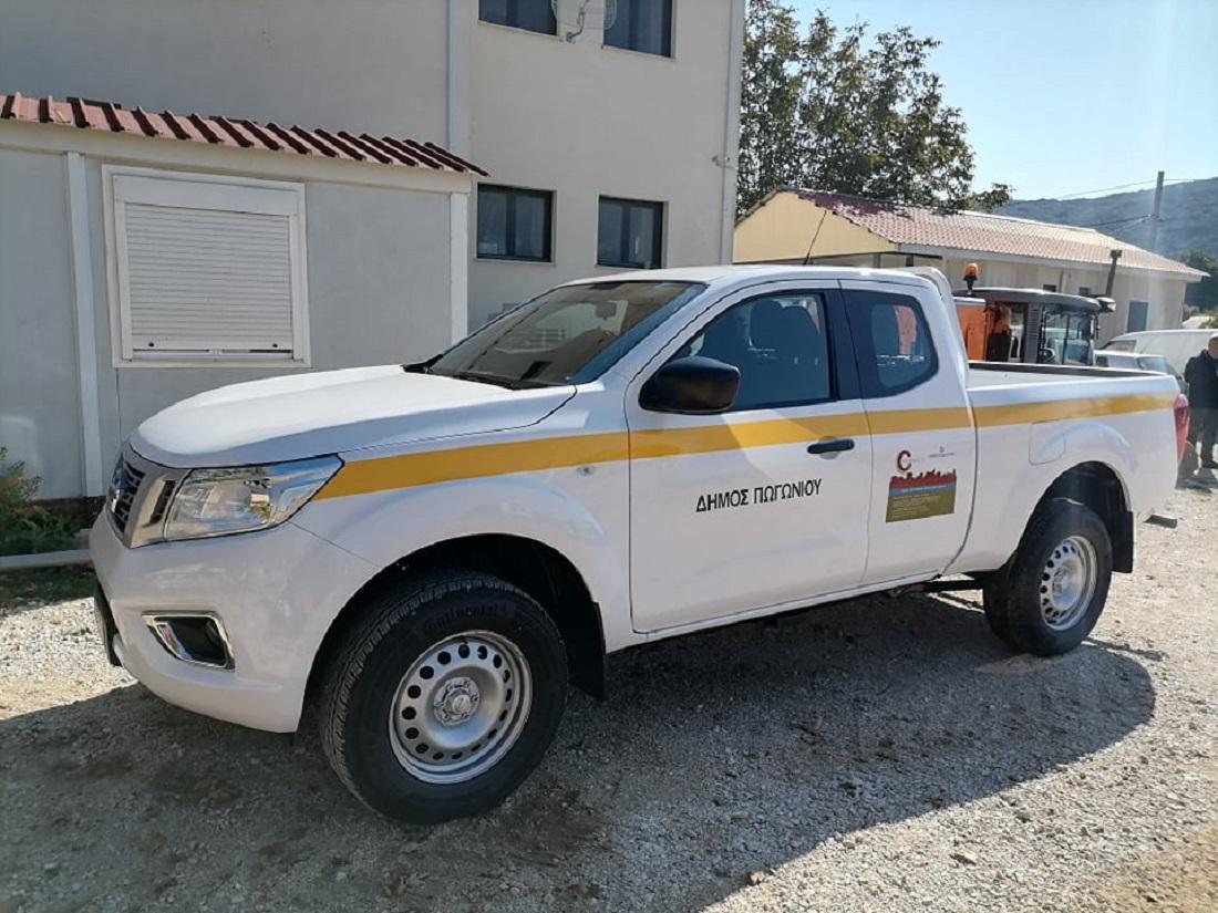Νέο φορτηγό 4Χ4 στον στόλο του δήμου Πωγωνίου