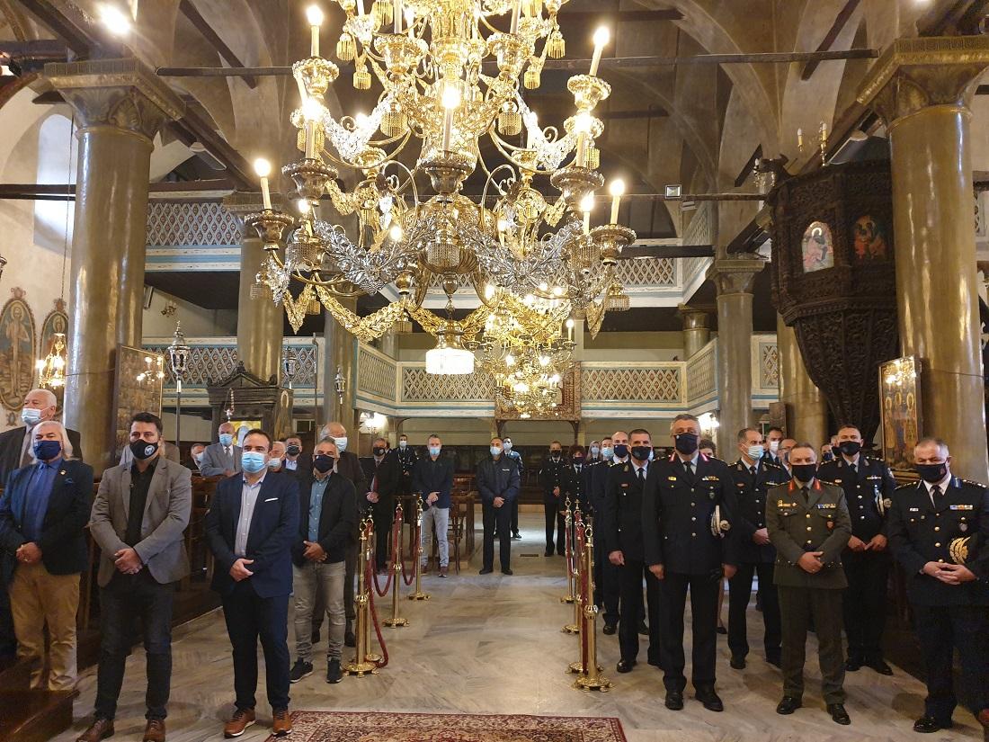 Γιόρτασαν την «Ημέρας της Αστυνομίας» και τον Άγιο Αρτέμιο